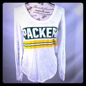 🏈VS PINK Packers tee 🏈